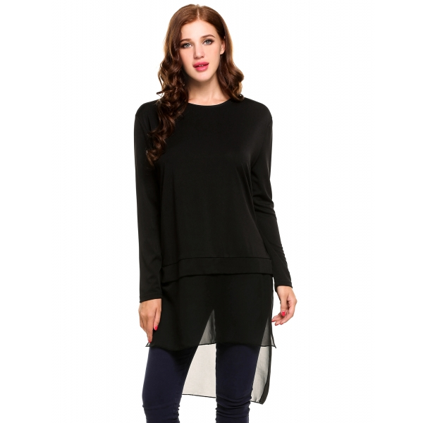 05f8962ed819d Meaneor Women Casual Hollowed Out Back Shirt Long Sleeve Blouse Top with  Pocket.  24.99. Next Previous. Product Description